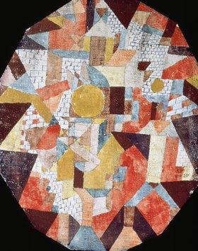 Paul Klee: Vollmond in Mauern