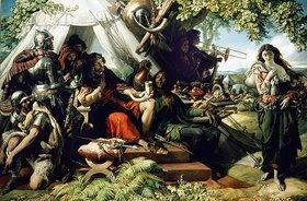 Daniel Maclise: König Cophetua und die Bettlerin