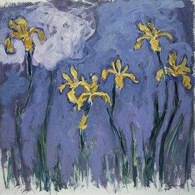 Claude Monet: Gelbe Lilien und rosa Wolke