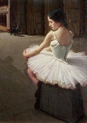 Alessandro Morbelli: Fragilina (sitzende Tänzerin)