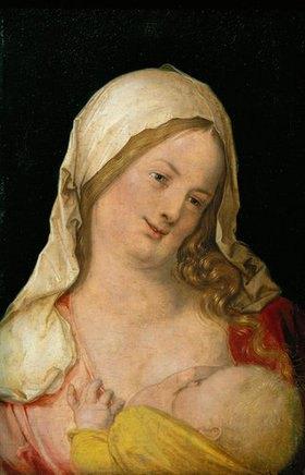 Albrecht Dürer: Maria mit dem Kind an der Brust