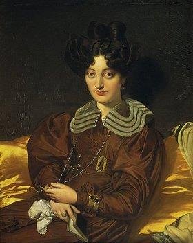 Jean Auguste Dominique Ingres: Madame Marcotte de Sainte-Marie, Bildnis