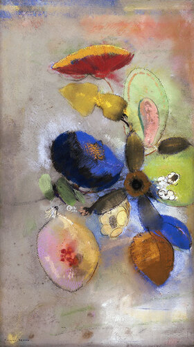 Odilon Redon: Blüten