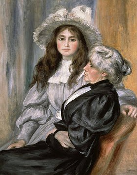 Auguste Renoir: Julie Manet und Berthe Morisot