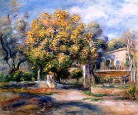 Auguste Renoir: Eingang zu Haus und Garten in Cagnes