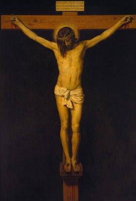 Diego Rodriguez de Velazquez: Christus am Kreuz (Christus von San Placido)