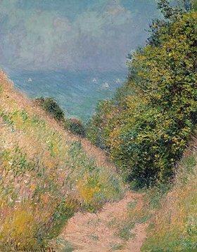 Claude Monet: Hohlweg bei Pourville