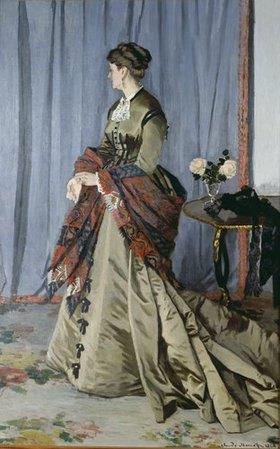 Claude Monet: Madame Louis Joachim Gaudibert, geborene Marguerite Marcel