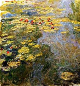 Claude Monet: Rote Seerosen