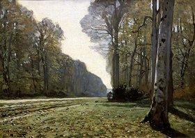 Claude Monet: Herbstliche Straße in Bas-Bréau