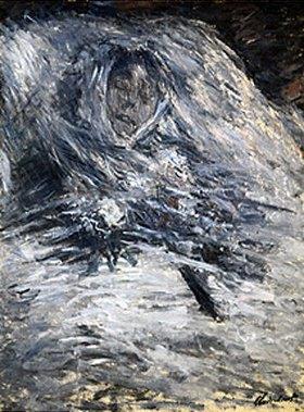 Claude Monet: Camille Monet auf dem Totenbett    1879