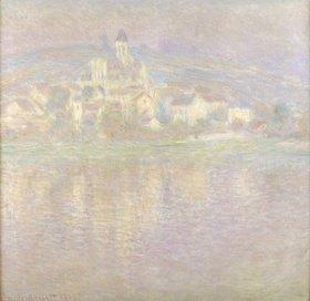 Claude Monet: Vétheuil bei Sonnenuntergang      wahrscheinlich