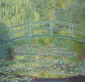 Claude Monet: Seerosenteich und japanische Brücke