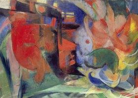 Franz Marc: Abstrakte Formen II. 1914
