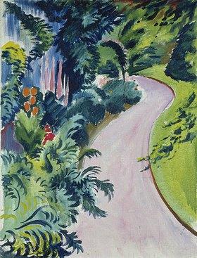 August Macke: Gartenweg