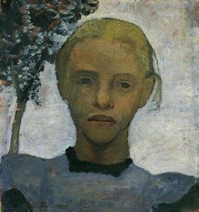 Paula Modersohn-Becker: Mädchenkopf