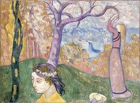 Emile Bernard: Madeleine im Bois d'Amour