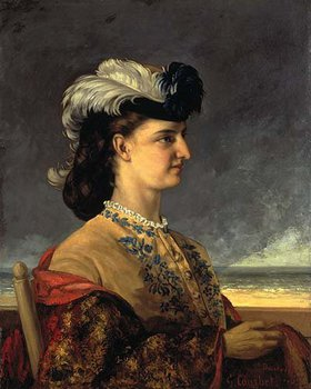 Gustave Courbet: Comtesse Karoly, Bildnis