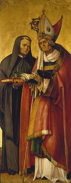 Hans (Suess) von Kulmbach: Die heiligen Benedikt und Willibald
