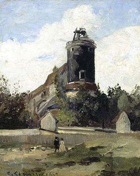 Camille Pissarro: Der Telegrafenturm auf dem Montmartre