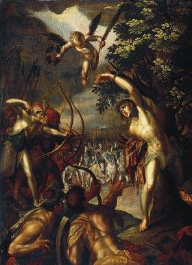 Hans von Aachen: Martyrium des hl. Sebastian. Nach 1588 (Replik nach Hans von Aachen)