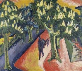 Ernst Ludwig Kirchner: Kastanien-Allee