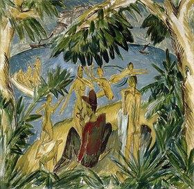 Ernst Ludwig Kirchner: Badende auf Fehmarn