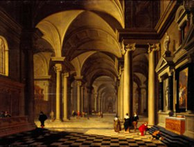 Antonie de Lorme: Kircheninneres