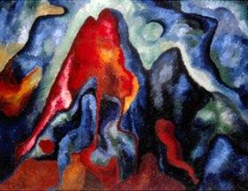 Wilhelm Morgner: Große astrale Komposition II