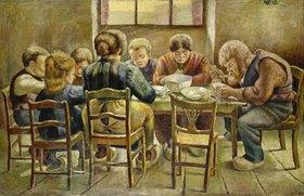 Wilhelm Morgner: Mittagsmahl (Bauernmahl)