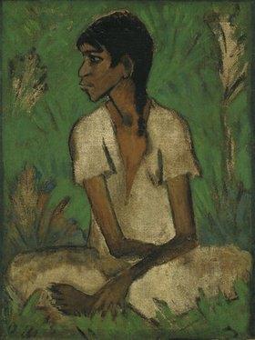 Otto Mueller: Zigeunerin. o.J. (um 1927)