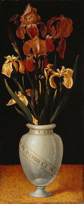 Ludger tom d.J Ring: Vase mit Schwertlilien und Iris