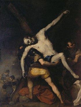 Luca (Fa Presto) Giordano: Kreuzabnahme des heiligen Andreas
