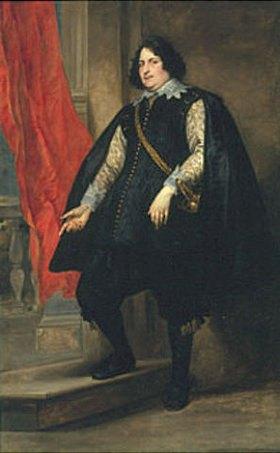 Anthonis van Dyck: Bildnis eines Mannes (Felipe Godines ?)