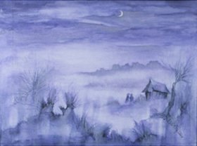 Annette Bartusch-Goger: Teufelsmoor im Nebel