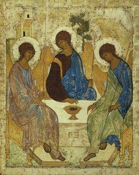 Rubljew Andrej: Alttestamentliche Dreifaltigkeit