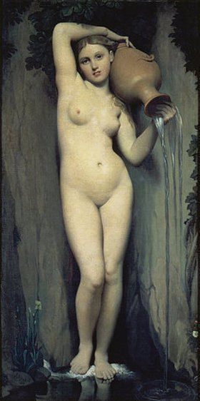 Jean Auguste Dominique Ingres: Die Quelle