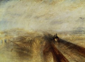 Joseph Mallord William Turner: Regen, Dampf und Geschwindigkeit (The great Western Railway)