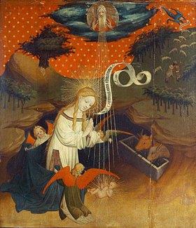 Meister Francke: Thomas-Altar: Die Weihnacht
