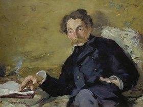 Edouard Manet: Bildnis von Stéphane Mallarmé