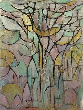 Piet Mondrian: Bäume