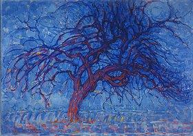 Piet Mondrian: Der rote Ba