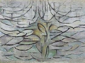 Piet Mondrian: Blühender Apfelba