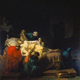 Jean-François-Pierre Peyron: Der Tod der Alceste