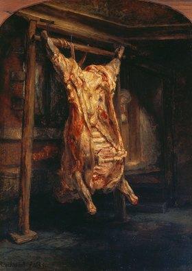 Rembrandt van Rijn: Der geschlachtete Ochse