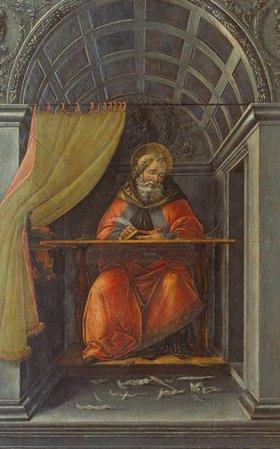 Sandro Botticelli: Der Hl. Augustinus im Gehäuse
