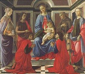 Sandro Botticelli: Altar des Hl. Ambrosius