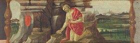 Sandro Botticelli: Altar von San Marco: der büßende Hl. Hieronymus