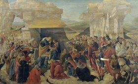 Sandro Botticelli: Die Anbetung der Hirten (unvollständig)