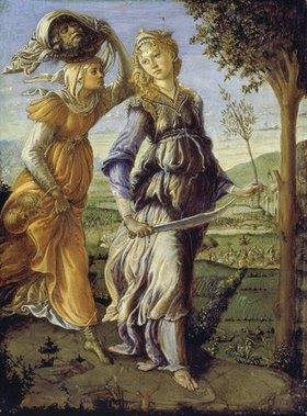 Sandro Botticelli: Die Rückkehr der Judith mit dem Haupt des Holofernes